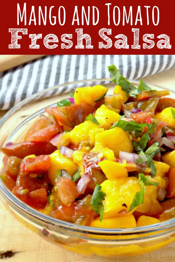 Mango and Tomato Fresh Salsa