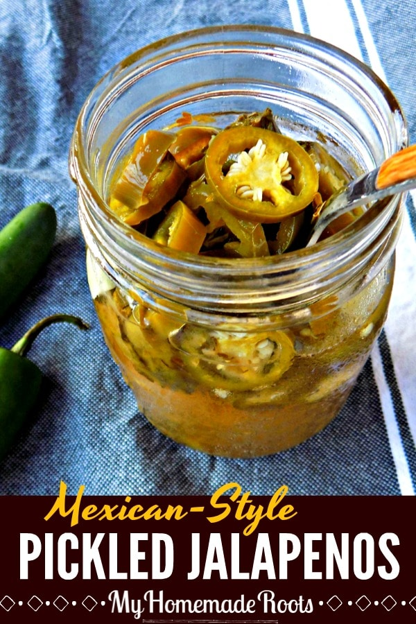 Mexican-Style Pickled Jalapeno Peppers