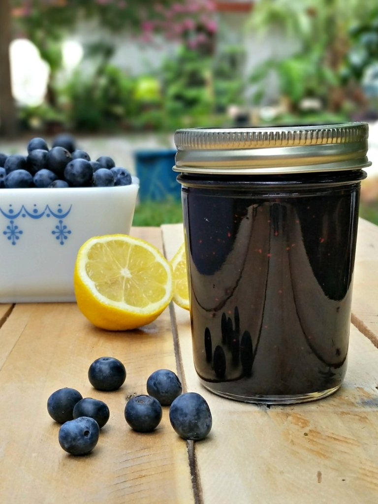 Blueberry Lemon Jam