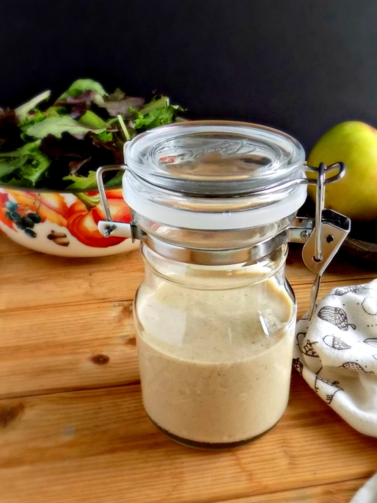 Creamy Maple Apple Cider Vinaigrette