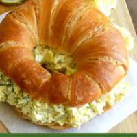 Egg Salad with Dill and Horseradish