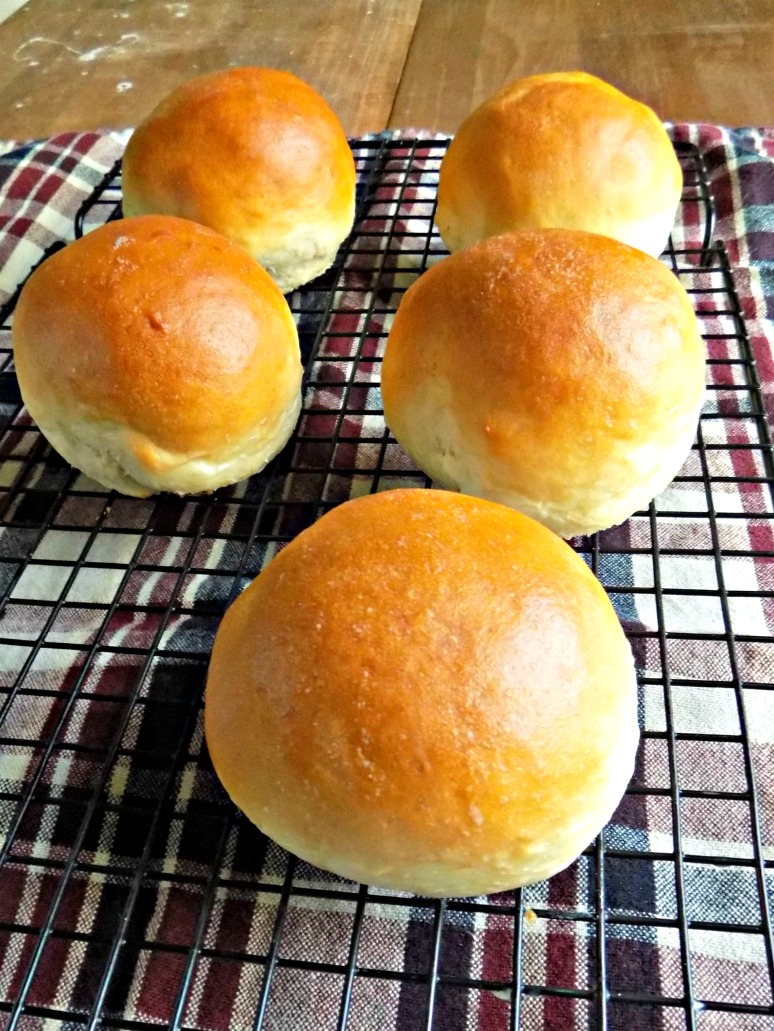 Quick and Easy Hamburger Buns