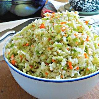 PA Dutch Pepper Slaw | My Homemade Roots