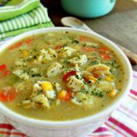 Pennsylvania Dutch Chicken Corn Soup with Rivels - a Pennsylvania Dutch Recipe