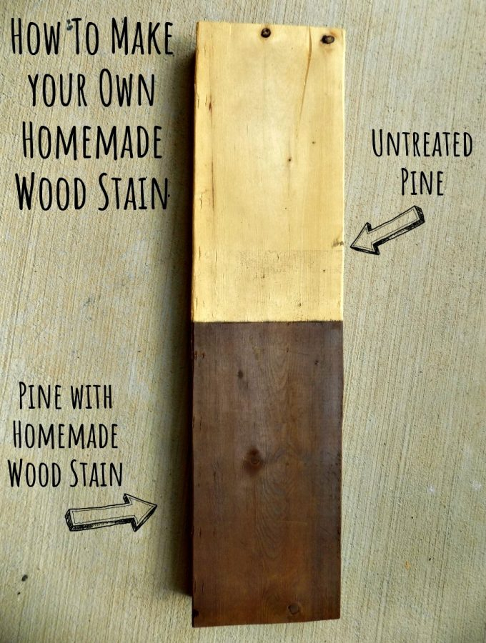 Easy Homemade Wood Stain