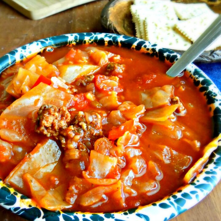Hearty Homemade Stuffed Cabbage Soup