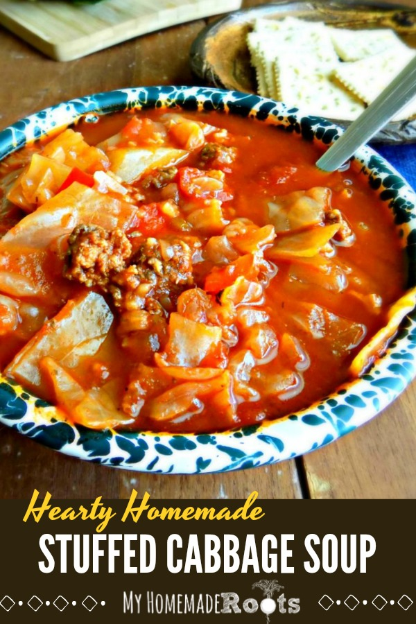 Homemade Stuffed Cabbage Soup