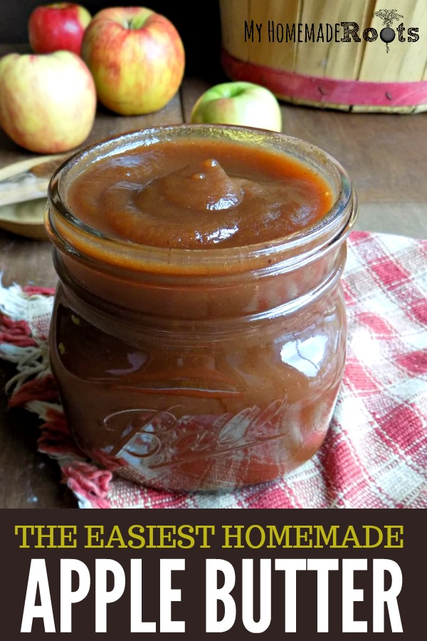 The Easiest Homemade Apple Butter