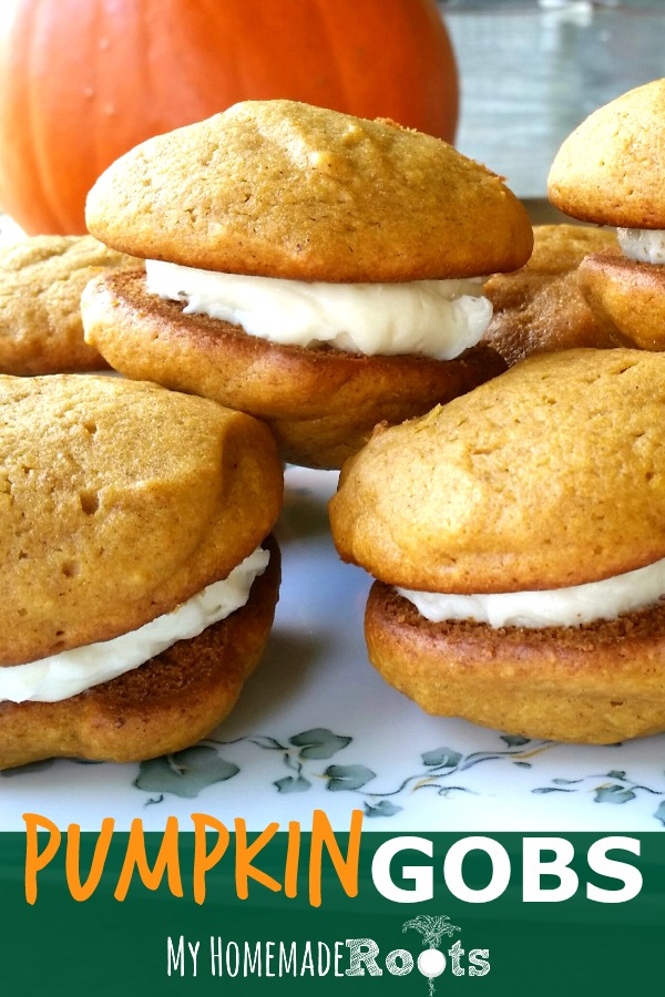 Pumpkin Gobs (aka whoopie pies) are a perfect fall treat!