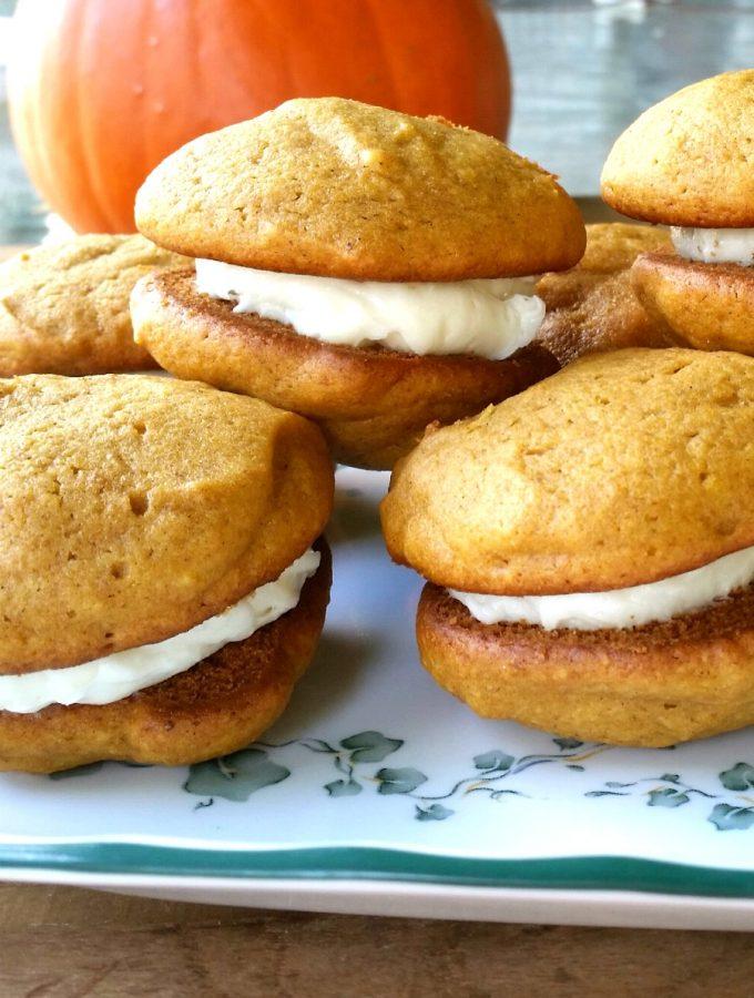 Pumpkin Gobs aka Pumpkin Whoopie Pies