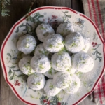 Key Lime Snowball Cookies - a Tropical Twist on a Classic