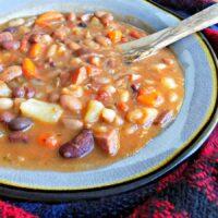 Kielbasa and 15 Bean Soup