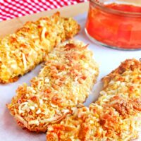 Coconut Chicken Tenders with Mango Chili Dipping Sauce