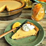 Meyer Lemon Pie - A Seasonal Winter Dessert