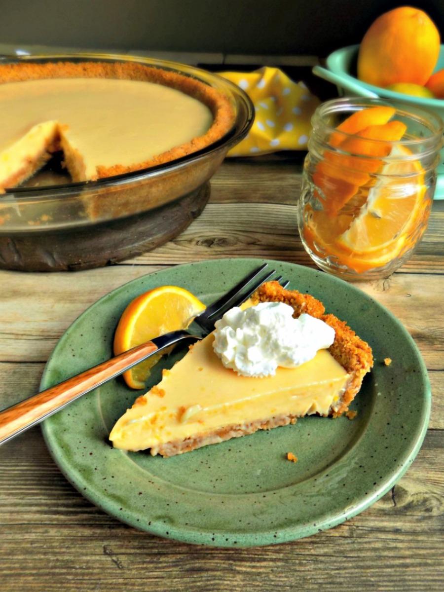 Meyer Lemon Pie – a Seasonal Winter Dessert