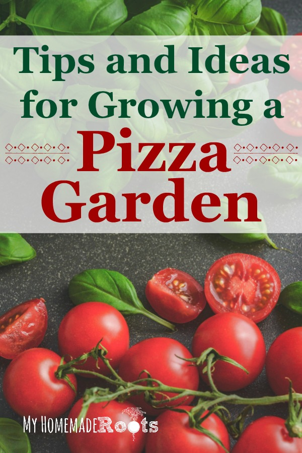 Tips and Ideas for Growing a Pizza Garden