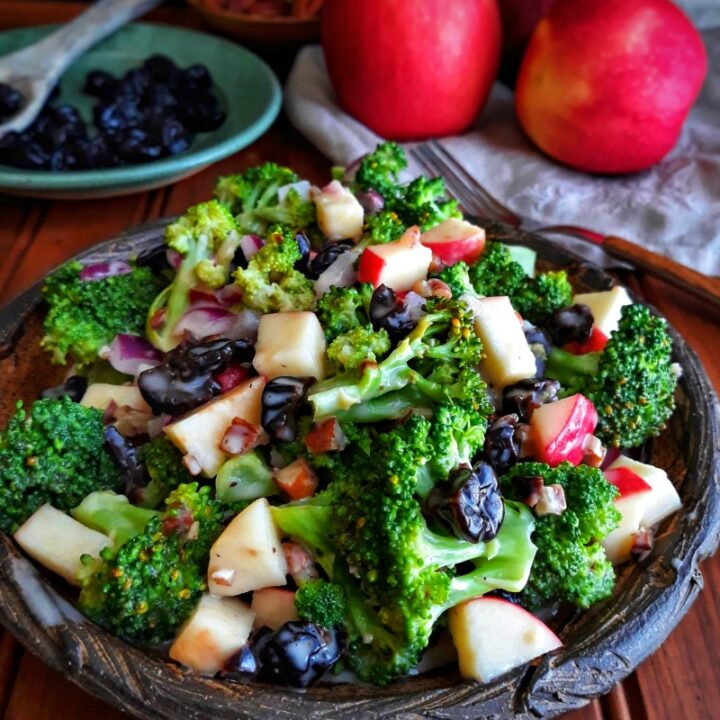 Broccoli Salad with Cherries and Pecans