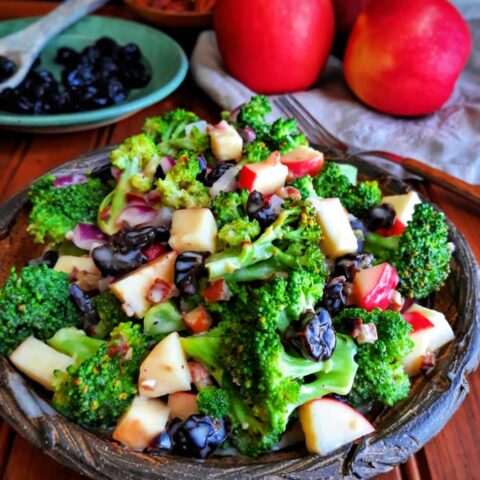 Cherry Pecan Broccoli Salad