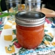 Homemade Peach BBQ Sauce for Canning or Freezing