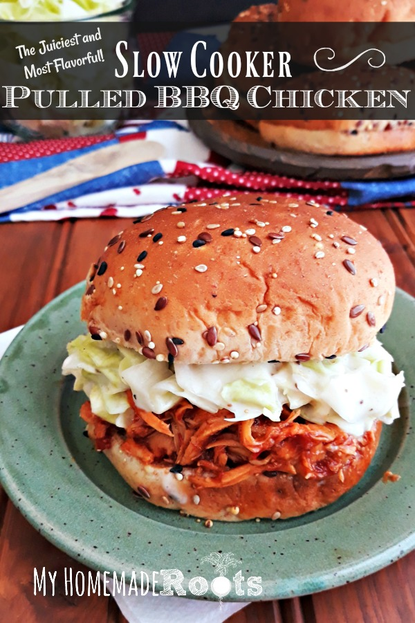 Juicy and Flavorful Pulled BBQ Chicken
