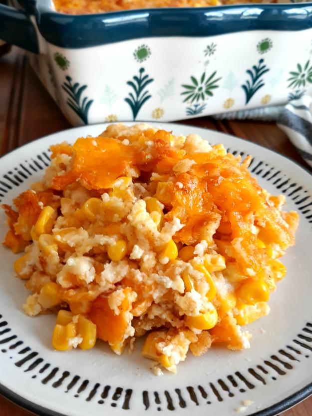Scalloped Corn Casserole