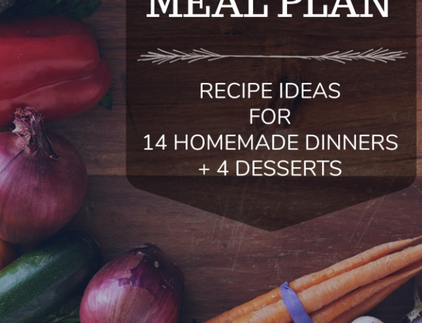 September Meal Plan Ideas