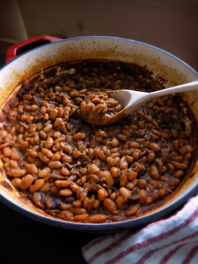 Homemade From Scratch Amish Baked Beans