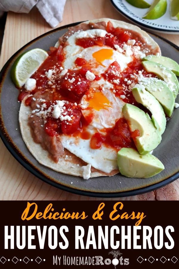 Delicious and Easy Huevos Rancheros