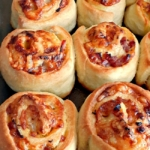 Homemade From-Scratch Ham and Swiss Pinwheels